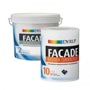Dyrup Facade og murmaling