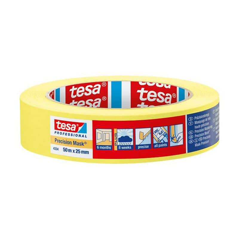 Tesa Professional Precision Mask Tape 50 Meter x 25mm